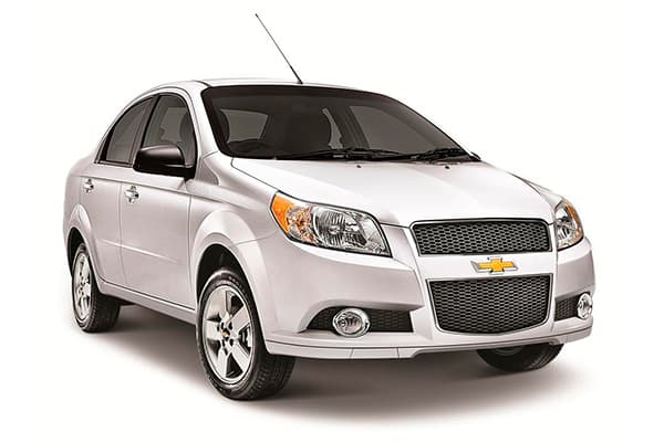 Turbo Rent a Car - Chevrolet Aveo 4P