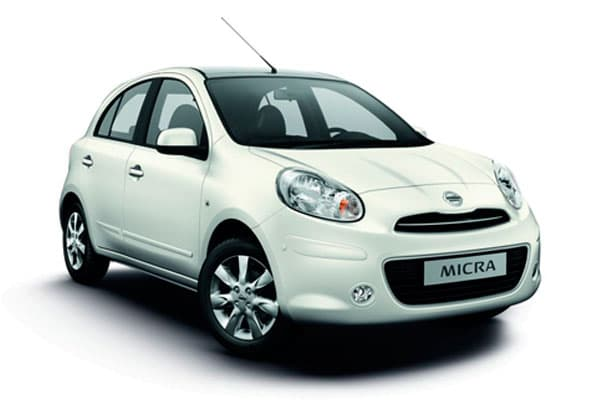 Turbo Rent a Car - Nissan Micra