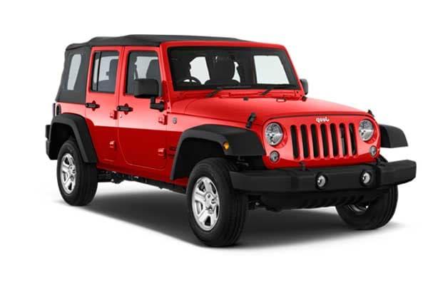 Turbo Rent a Car - Jeep Wrangler Long Body